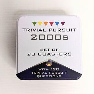 Trivial Pursuit coasters 2000s edition